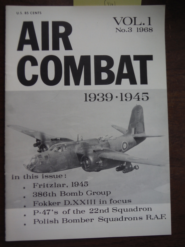 Image 0 of Air Combat 1939-1945 Volume I Number 3
