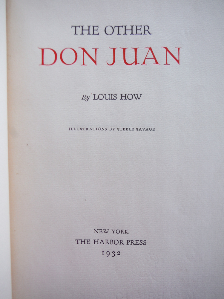 Image 1 of The Other Don Juan,