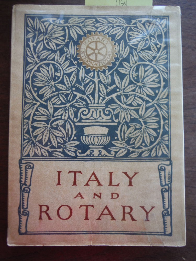 Italy and Rotary [Paperback] by Rotary International