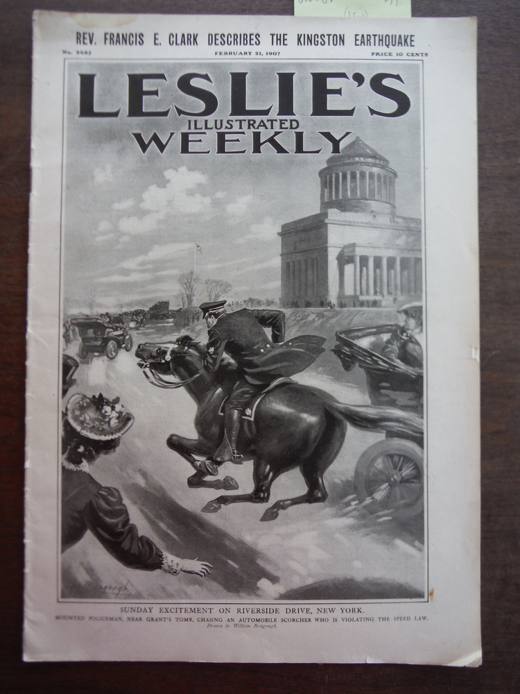 Image 0 of Leslie's Illustrated Weekly No. 2685 February 21, 1907
