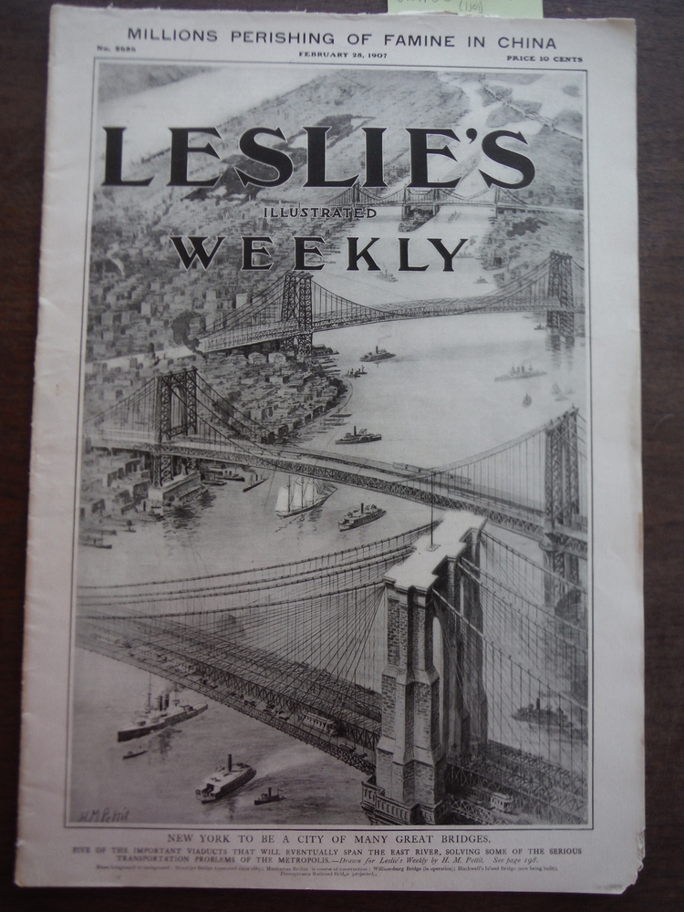 Image 0 of Leslie's Illustrated Weekly No. 2686 February 28, 1907