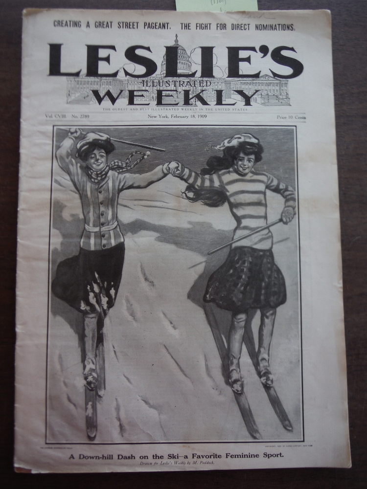 Image 0 of Leslie's Illustrated Weekly Vol CV!!! February 18, 1909