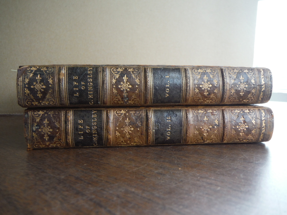 CHARLES KINGSLEY: HIS LETTERS AND MEMORIES OF HIS LIFE: VOLS. I - II.