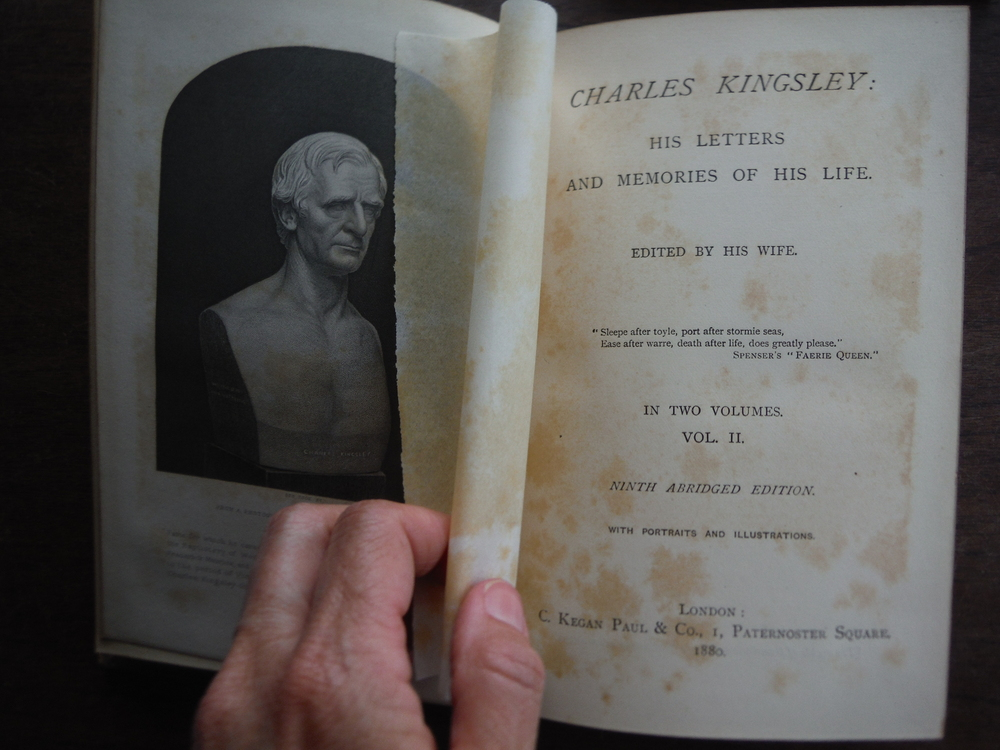 Image 2 of CHARLES KINGSLEY: HIS LETTERS AND MEMORIES OF HIS LIFE: VOLS. I - II.