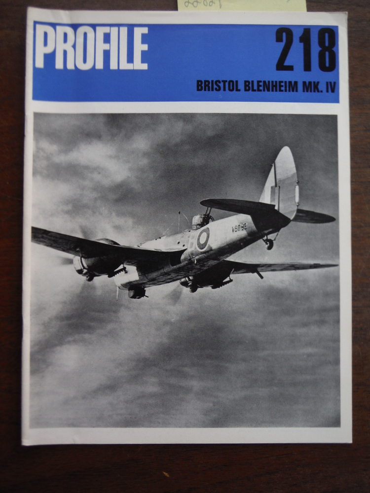 Aircraft Profile No. 218: Bristol Blenheim Mk. IV