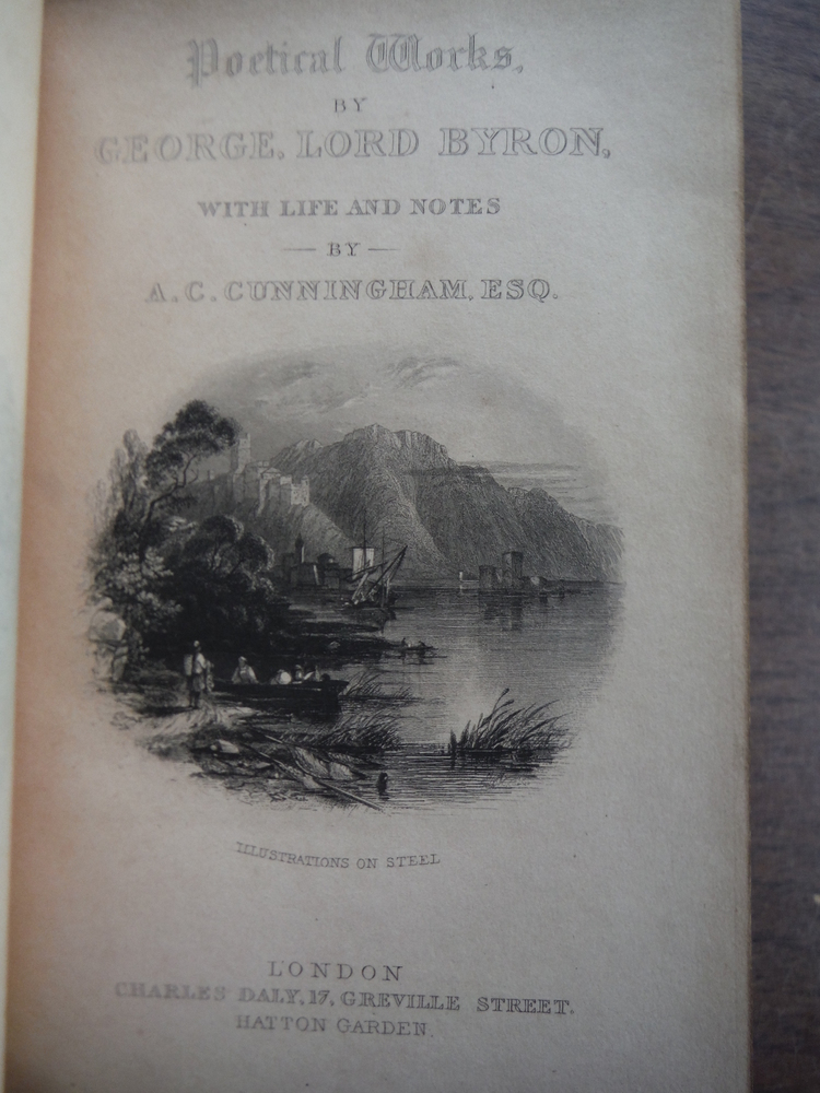 Image 1 of   Poetical Works By George Lord Byron, with Life and Notes By A.C. Cunningham