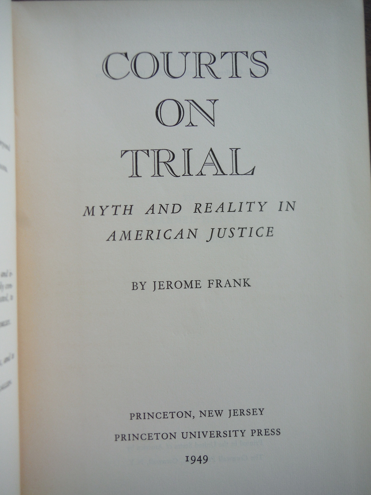 Image 1 of Courts on Trial