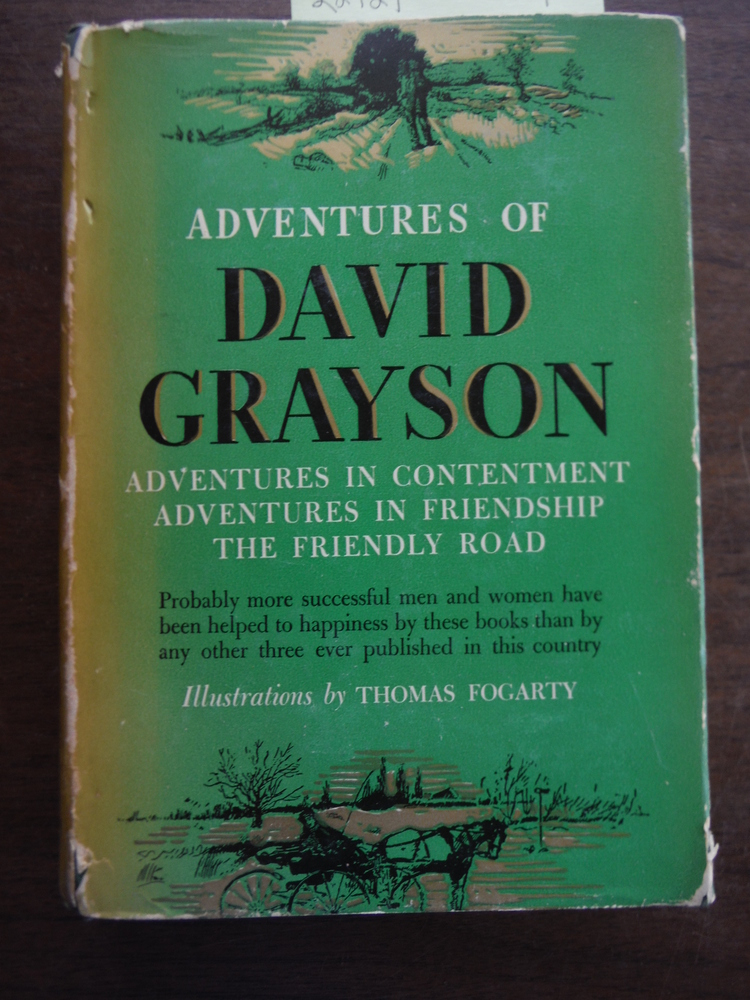 ADVENTURES OF DAVID GRAYSON- 3 volumes in 1