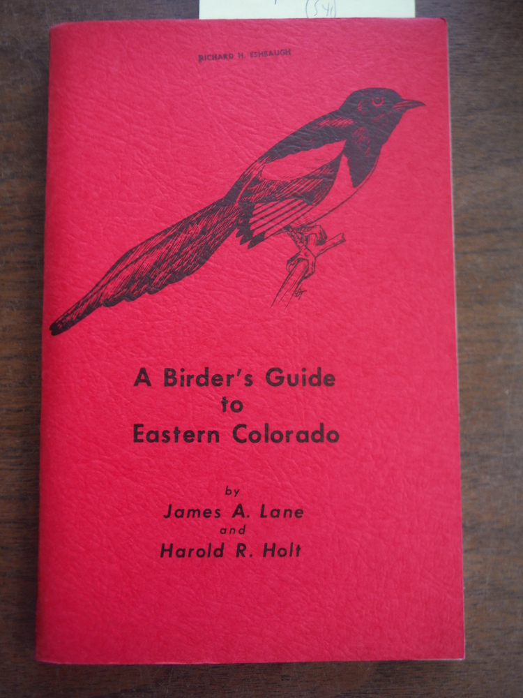 A Birder's Guide to Eastern Colorado