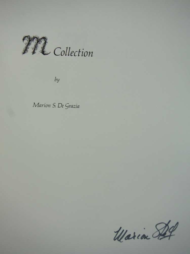 Image 1 of M Collection Signed First Edition