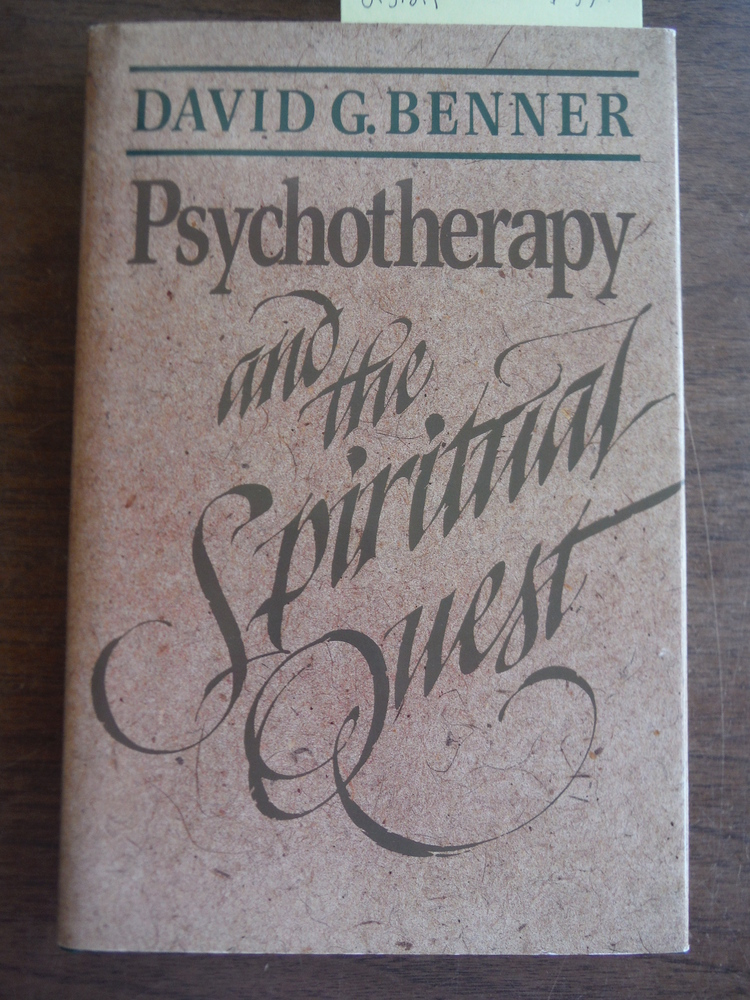 Image 0 of Psychotherapy and the Spiritual Quest