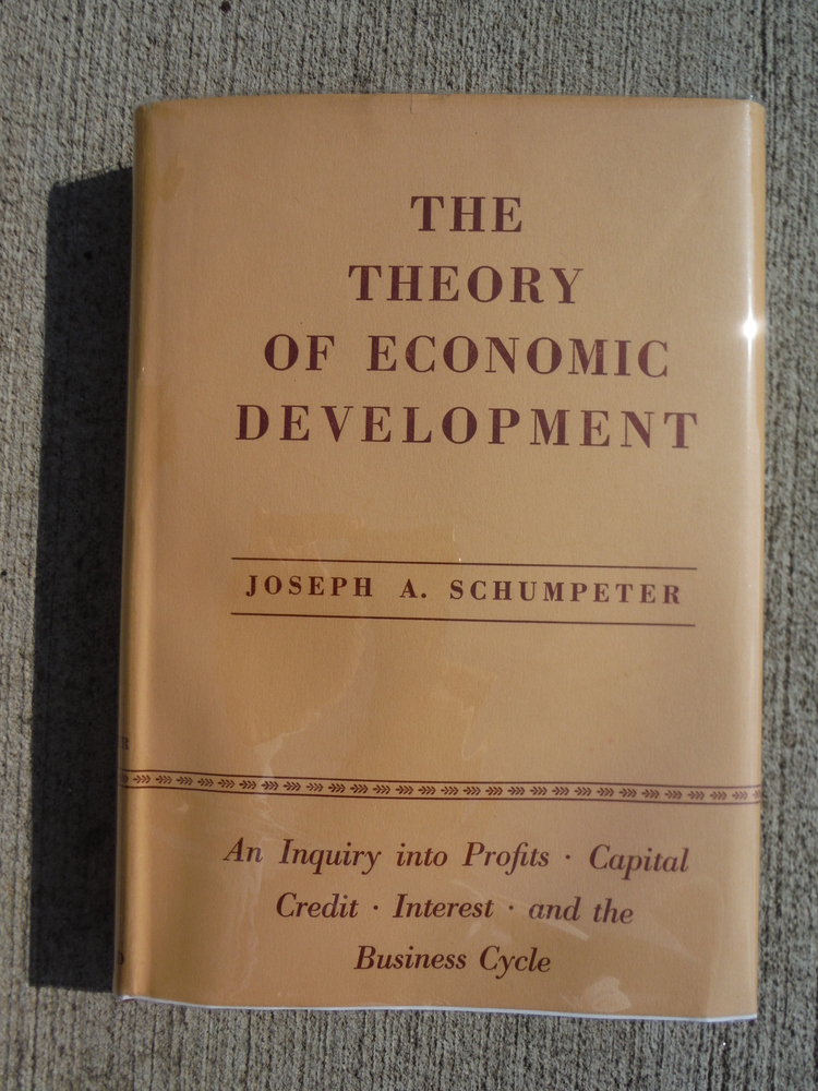 The Theory of Economic Development : an inquiry into profits, capital, credit, i