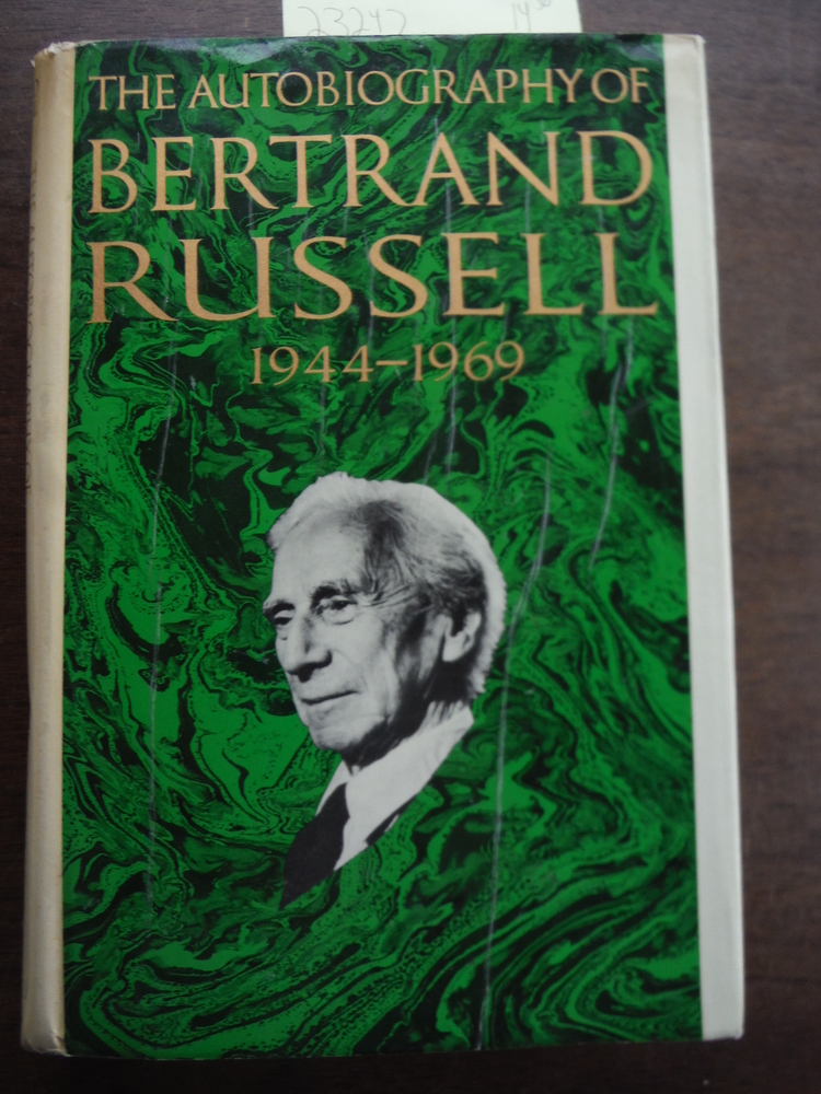 Image 0 of The Autobiography of Bertrand Russell: 1944-1969