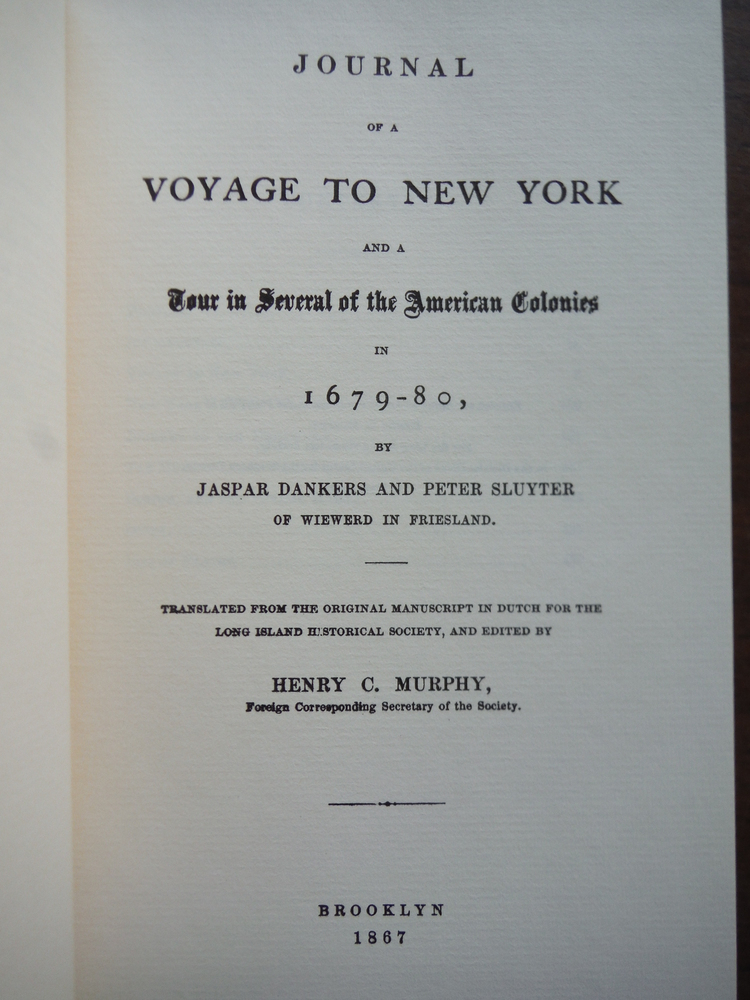 Image 1 of Journal of a Voyage to New York