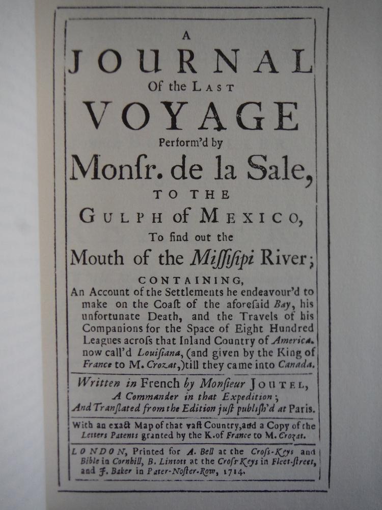 Image 1 of The Last Voyage Perform'd By de la Sale