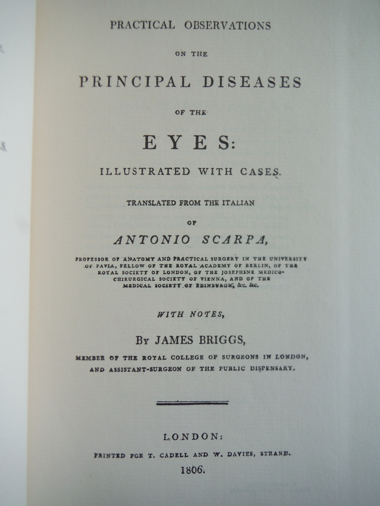 Image 1 of PRACTICAL OBSERVATIONS ON THE PRINCIPAL DISEASES OF THE EYES: ILLUSTRATED WITH C