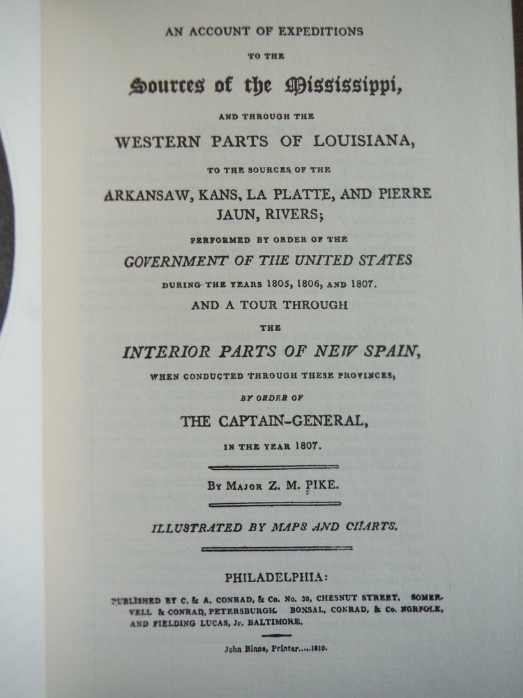 Image 1 of Sources of the Mississippi and the Western Louisiana Territory (March of America