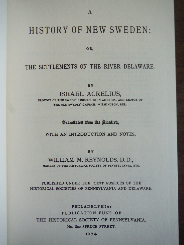Image 1 of A History of New Sweden