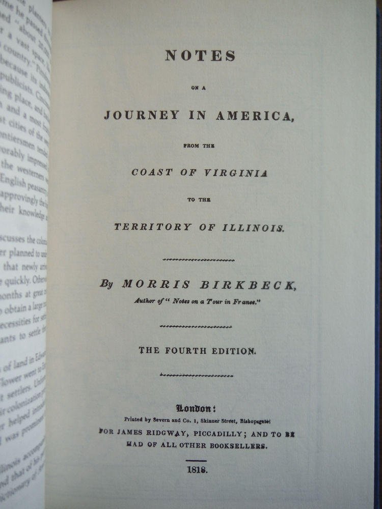 Image 1 of Notes on a Journey in America