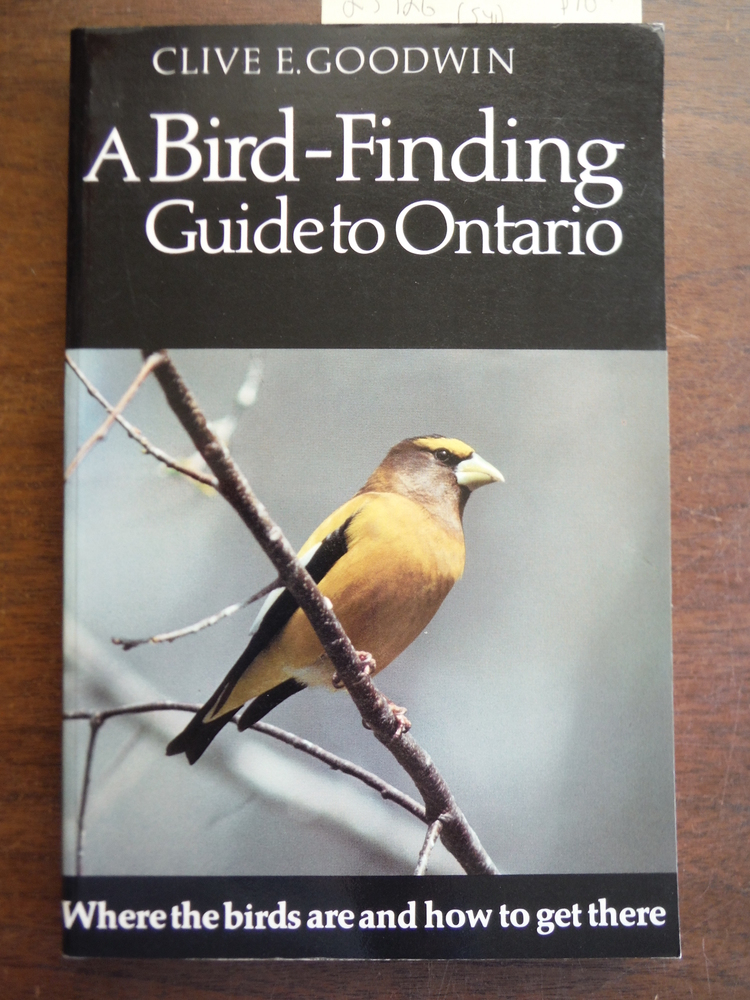 A Bird Finding Guide to Ontario