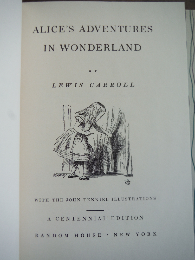 Image 1 of Alice's Adventures in Wonderland and Through the Looking-Glass with the Tenniel