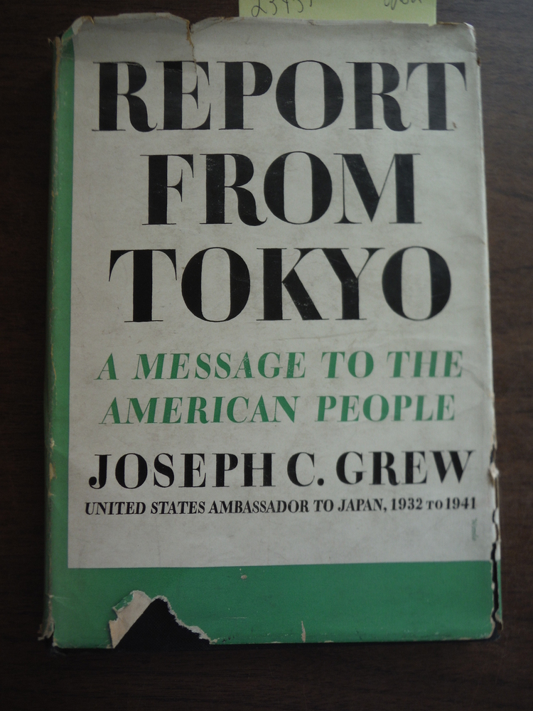 Report from Tokyo: A Message to the American People