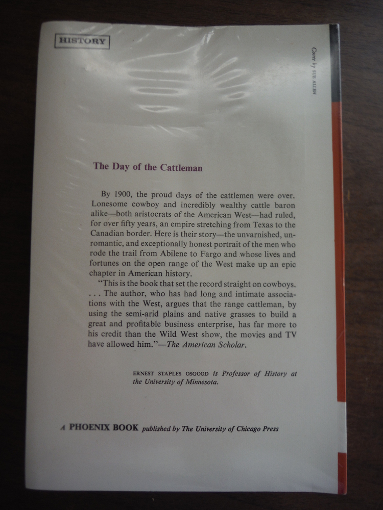 Image 1 of The Day of the Cattleman. (Phoenix Books)