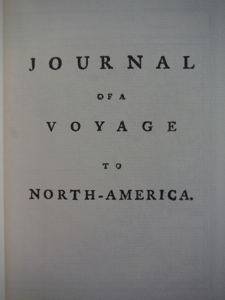 Image 1 of Journal of a Voyage to North-America, Volume I