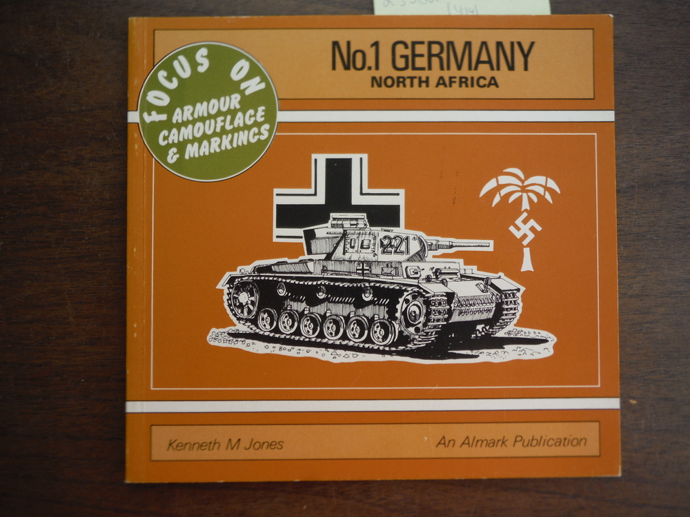 Germany, North Africa - Focus on Armour Camouflage & Markings, No. 1