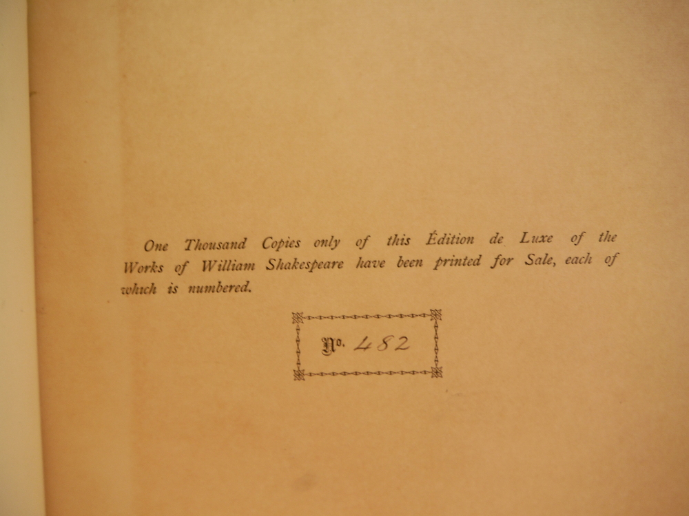 Image 2 of The Works of William Shakespeare in Fifteen Volumes; Volume 12