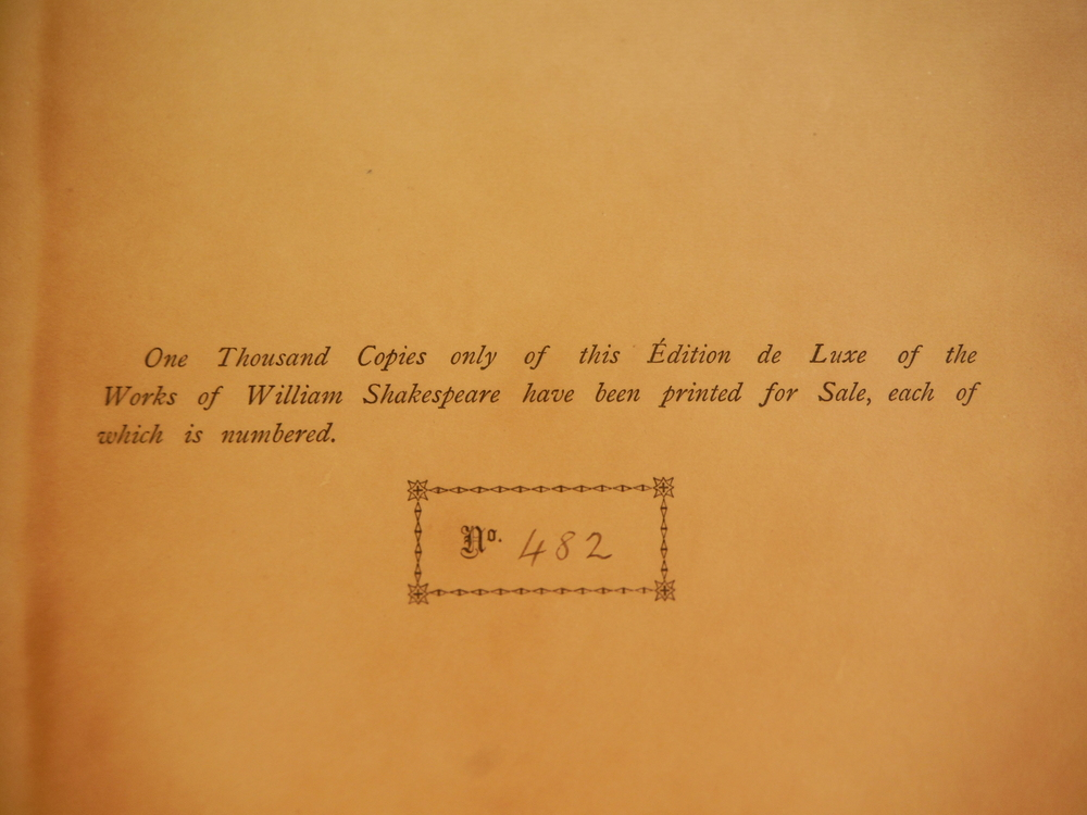 Image 2 of The Works of William Shakespeare in Fifteen Volumes; Volume 5