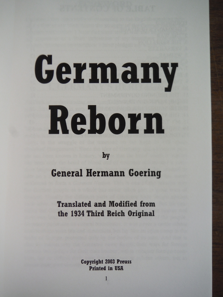 Image 1 of Germany Reborn