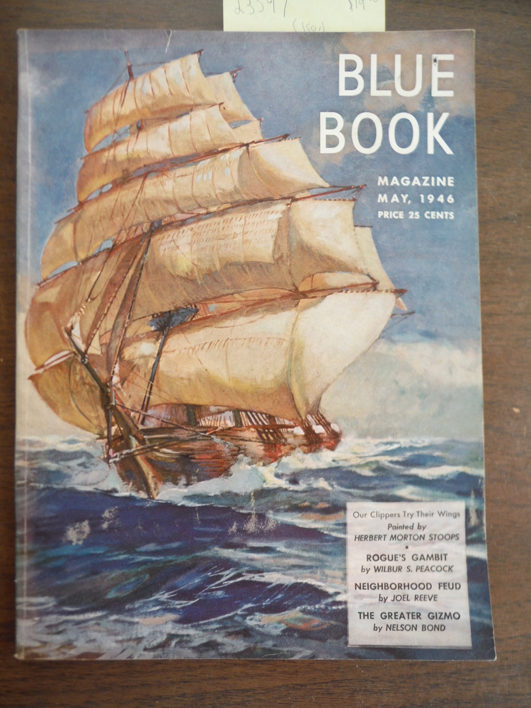 Blue Book Magazine (Bluebook Magazine, The Blue Book Magazine Blue Book Magazine
