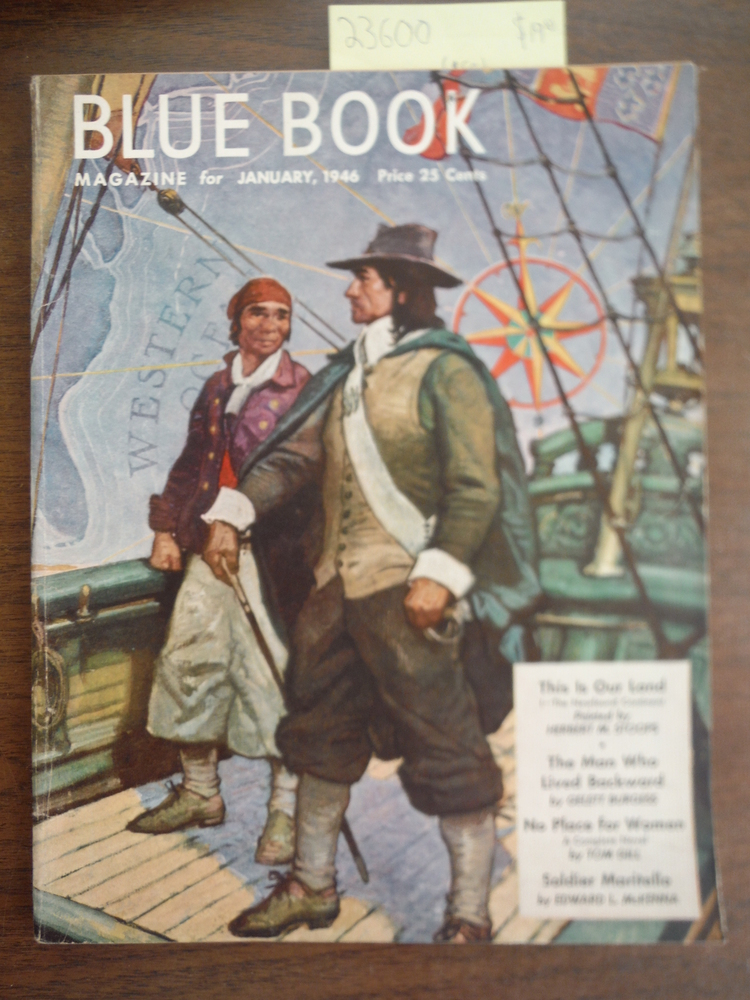 Blue Book Magazine  January 1946, Vol. 82, No. 3
