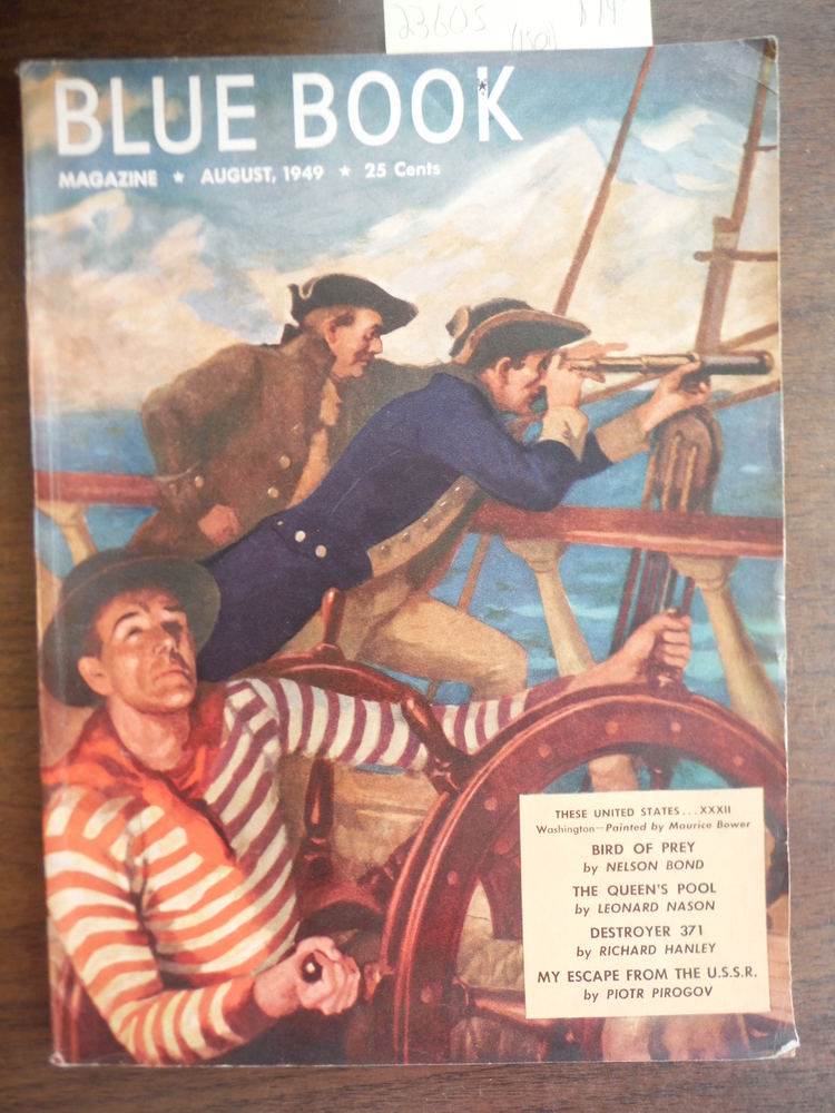 Blue Book Magazine  August 1949 Vol. 89, No. 4