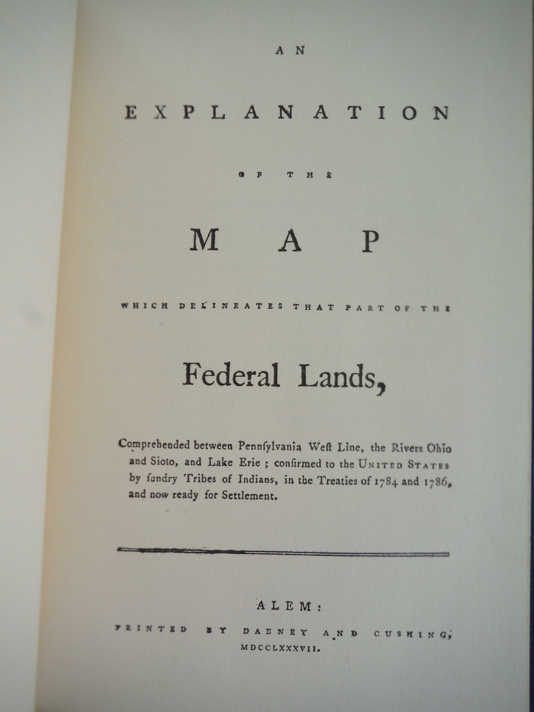 Image 1 of An Explanation of the Map of Federal Lands