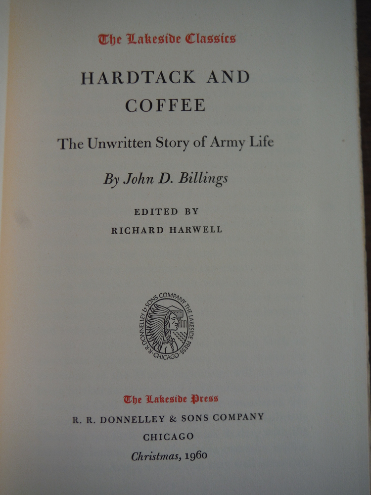 Image 1 of Hardtack and coffee,: The Unwritten Story of Army Life (The Lakeside Classics)