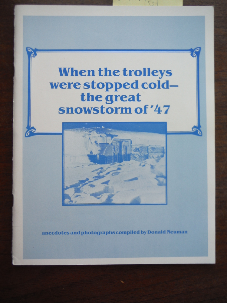 Image 0 of When the trolleys were stopped cold - the great snowstorm of '47