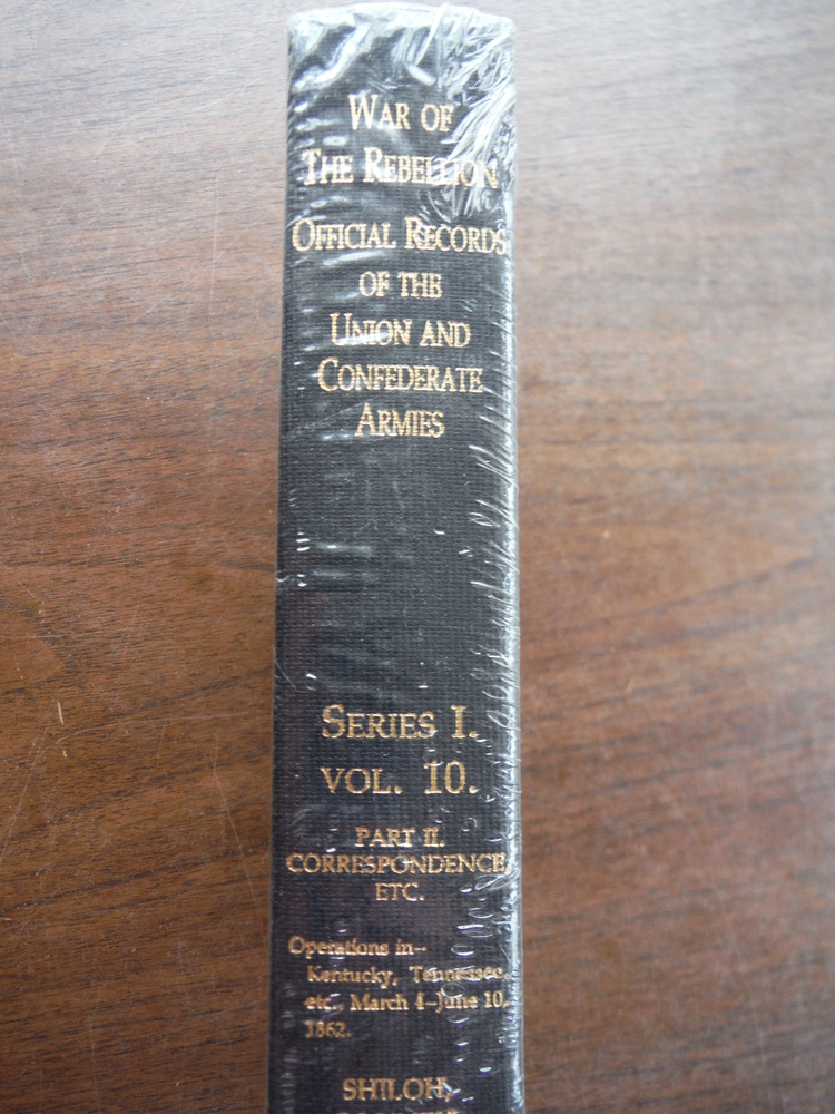 Image 1 of Official Records of the Union and Confederate Armies Series I Vol. 10 Part II Co
