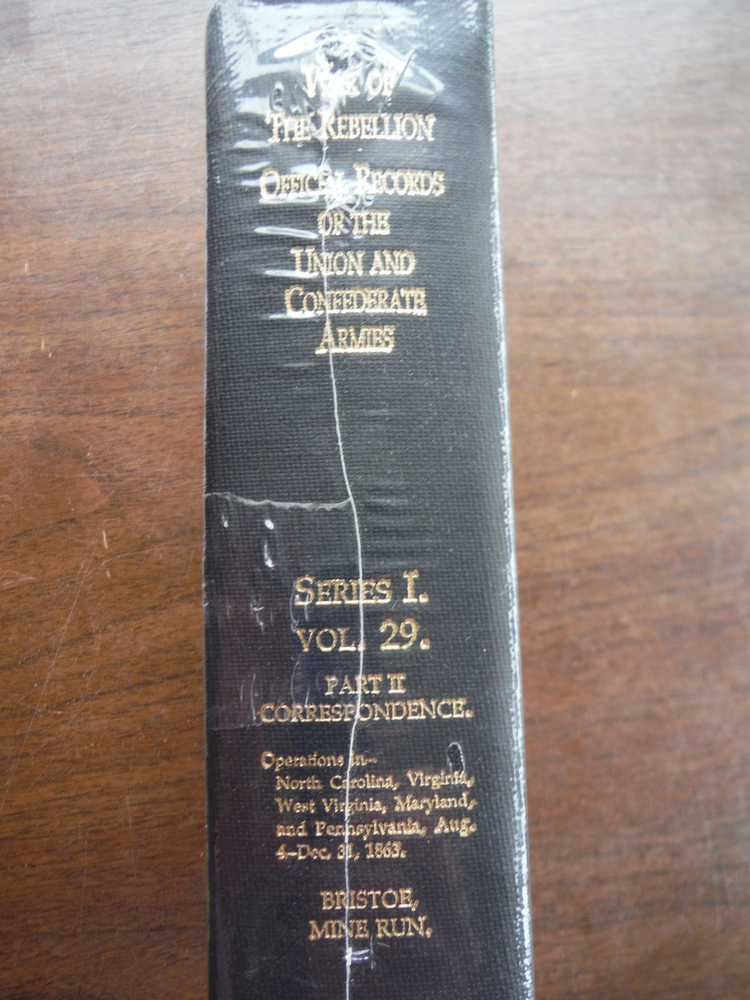 Image 1 of Official Records of the Union and Confederate Armies Series I Vol. 29 Part II Co