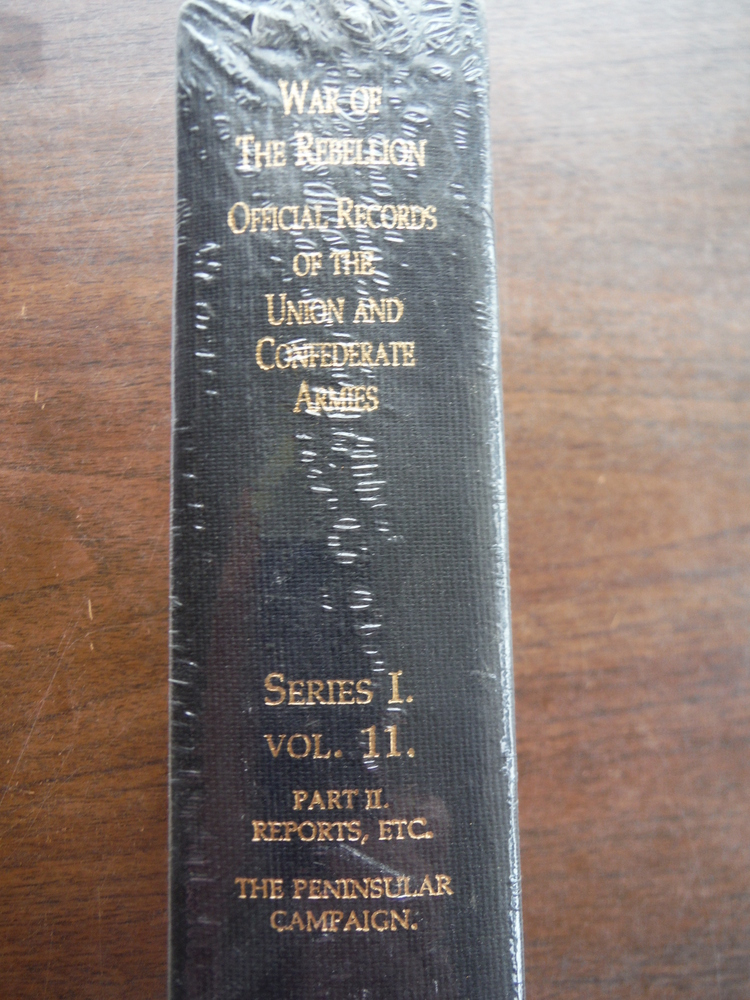 Image 1 of Official Records of the Union and Confederate Armies Series I Vol. 11 Part II Re