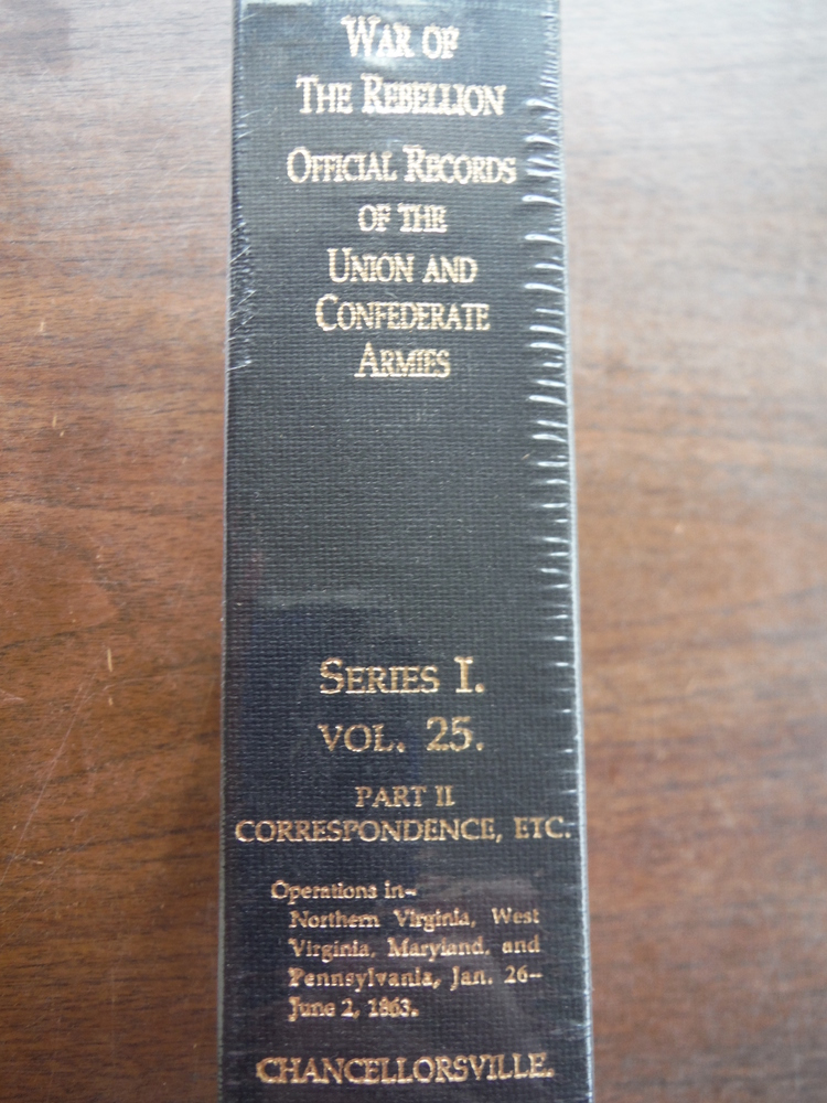 Image 1 of Official Records of the Union and Confederate Armies Series I Vol. 25 Part II Co