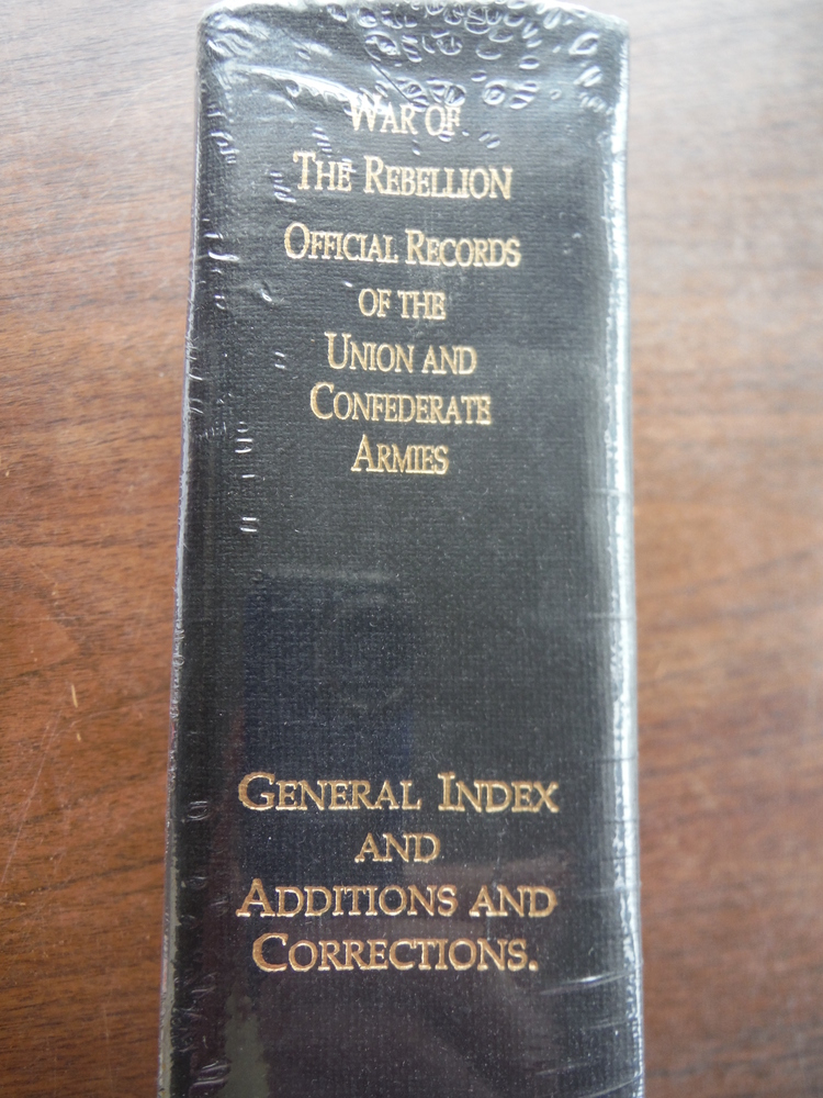 Image 1 of Official Records of the Union and Confederate Armies General Index and Additions