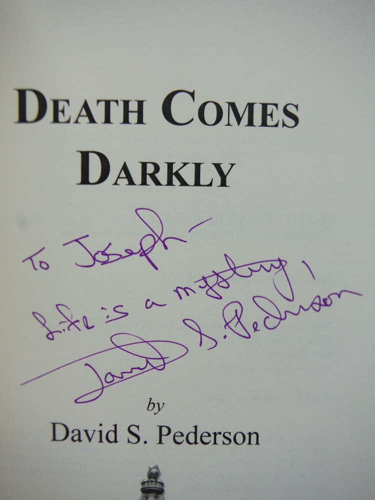 Image 1 of Death Comes Darkly