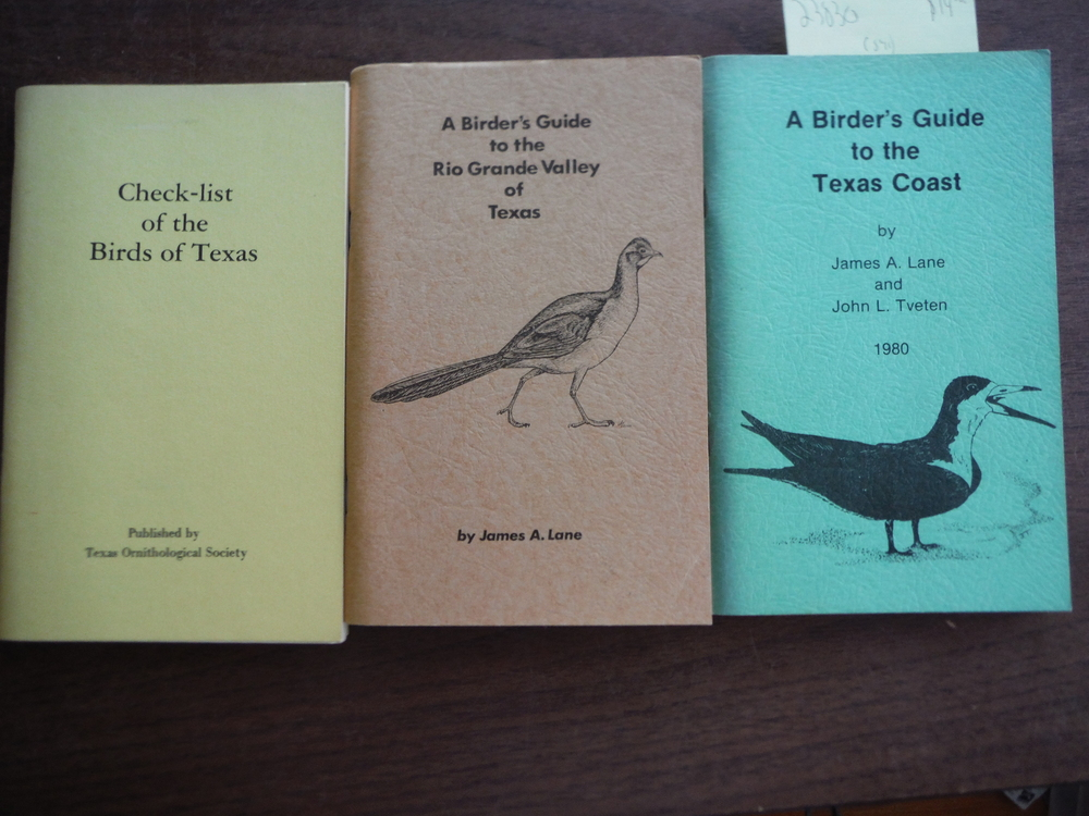 Lot of Three Birder's Guides to Texas