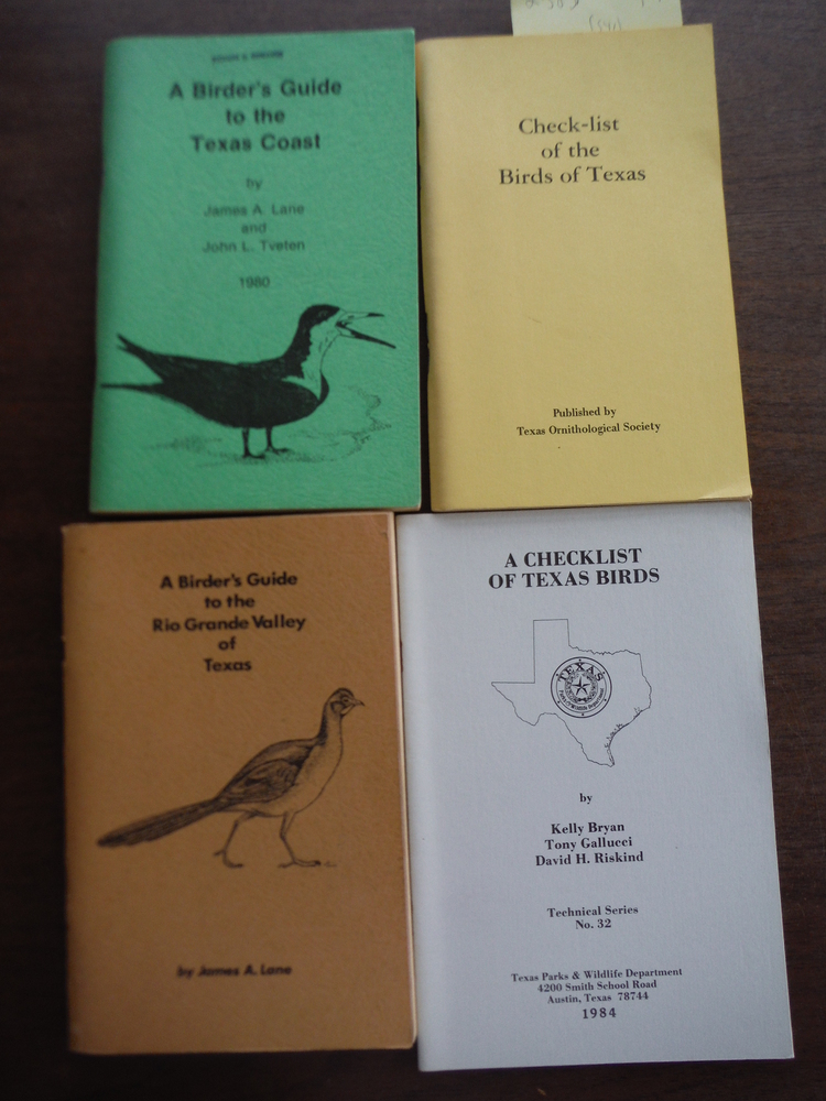Lot of Four Birder's Guides to Texas