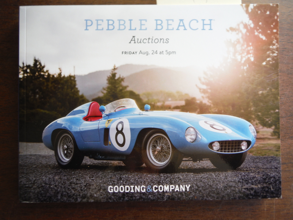 Gooding Pebble Beach Auctions (August 24, 2018)