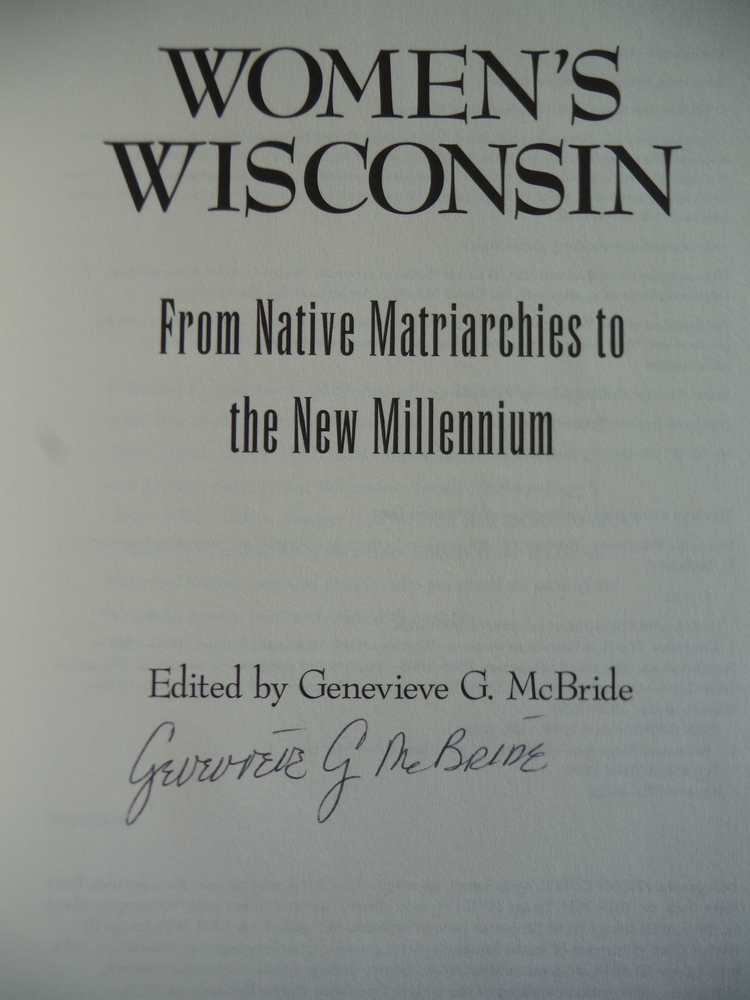 Image 1 of Women's Wisconsin: From Native Matriarchies to the New Millennium