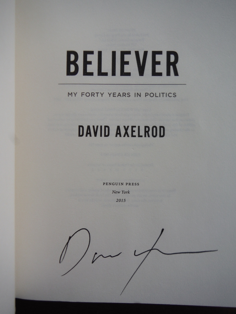 Image 1 of Believer: My Forty Years in Politics