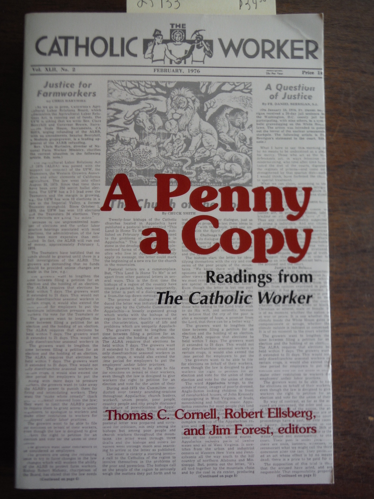 A Penny a Copy: Readings from the Catholic Worker